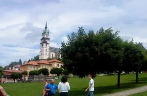 Námestie v Kremnici. Foto: MS