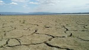 Pohľad na zem, kde bola 50 rokov voda. Foto: MS